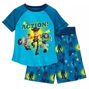 Toy Story Short Sleep Set for Boys 4